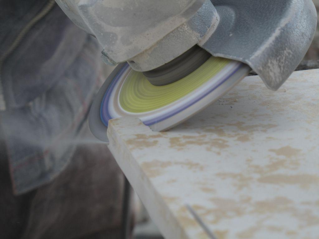 Gres porcellanato gpj lilla utensili diamantati - Tagliare piastrelle gres con flessibile ...